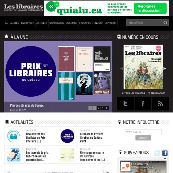 Le libraire - Portail du livre au Québec