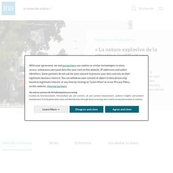 La Revue des médias : le magazine d'analyse des médias de l'INA