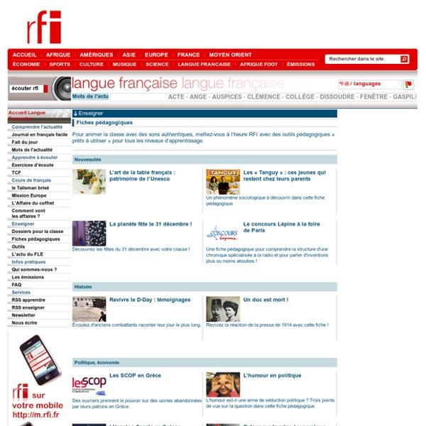 RFI - Langue Française