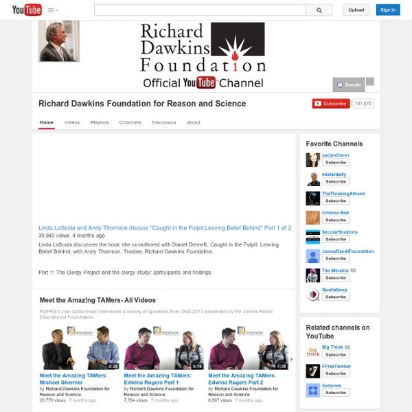 Richarddawkinsdotnet's Channel
