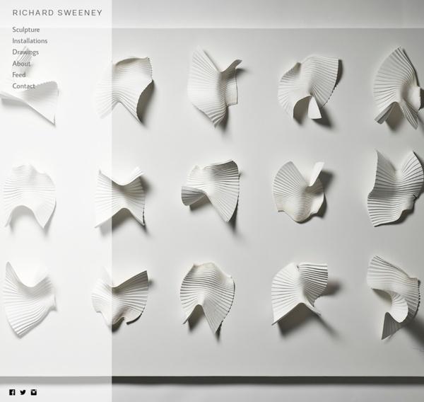 Richard Sweeney - Paper Sculptor