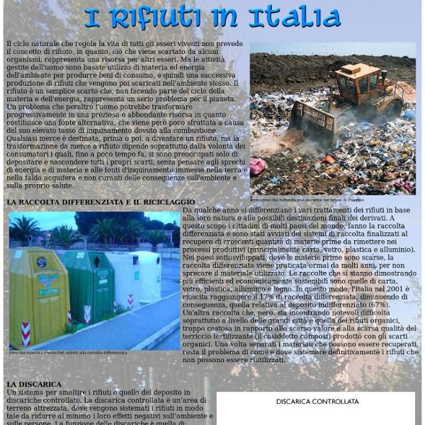 Rifiuti In Italia