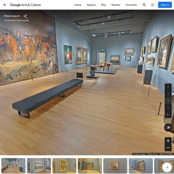 Rijksmuseum - first floor, Amsterdam, Pays-Bas — Google Arts&Culture