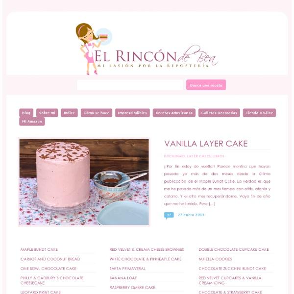 El Rincón de Bea » Mi pasión por la repostería en un blog El Rincón de Bea