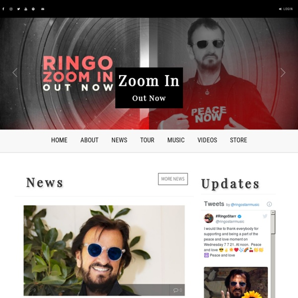 The Official Ringo Starr Site