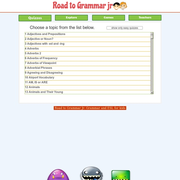 Road to Grammar - Your Road to Better Grammar