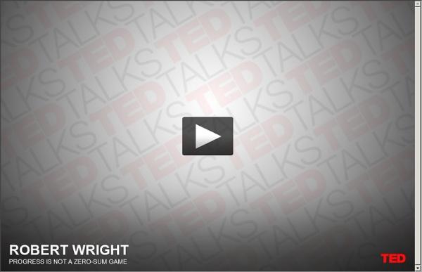 Robert Wright on optimism
