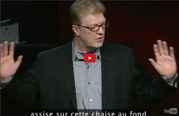 Ken Robinson: Le système éducatif tue la créativité VOSTFR