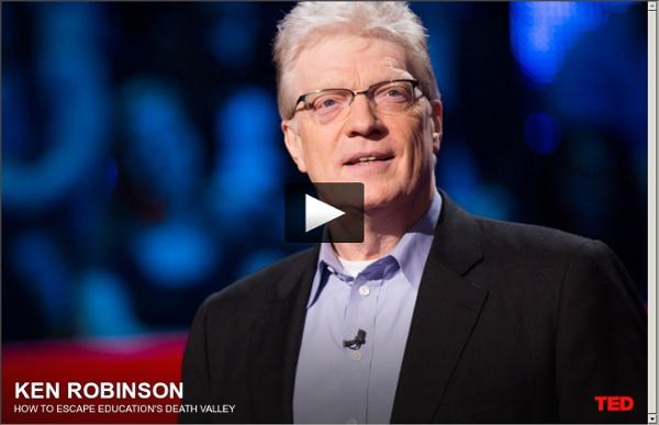 Ken Robinson : Comment échapper à la vallée de la mort de l'éducation .
