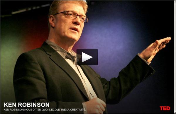 Ken Robinson nous dit en quoi l'école tue la créativité.