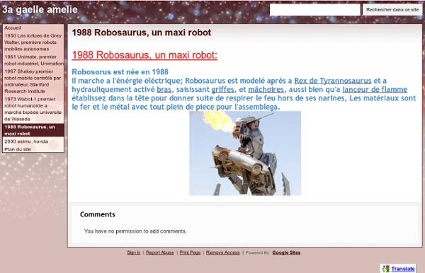 1988 Robosaurus, un maxi robot - 3a gaelle amelie