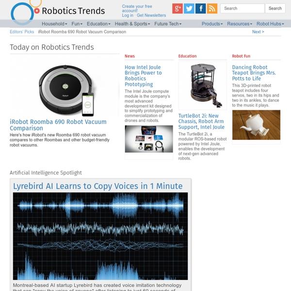Robotics Trends