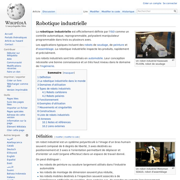 Robotique industrielle