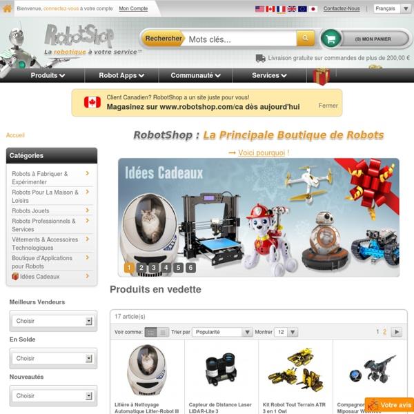 Boutique de Robots