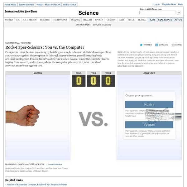 Rock-Paper-Scissors: You vs. the Computer - Interactive Feature