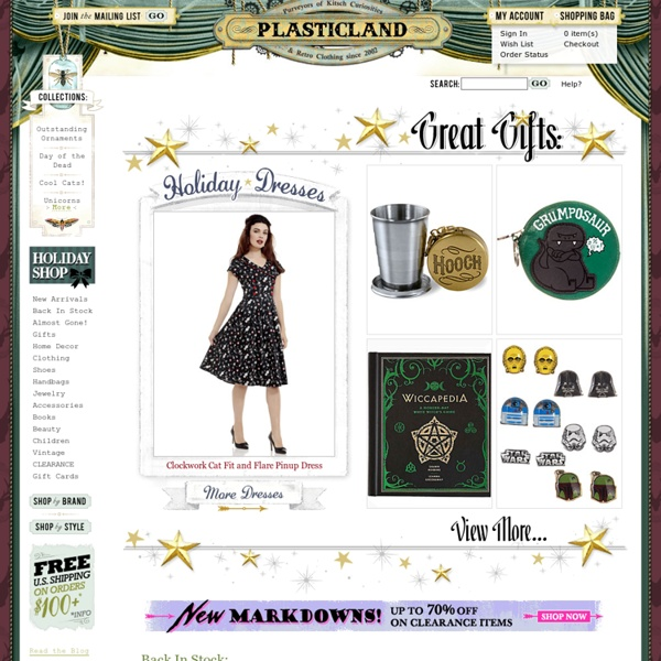 Retro, Rockabilly Clothing, Cute Dresses, Indie Women's Clothing