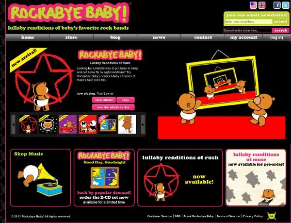 ROCKABYE BABY! - Home