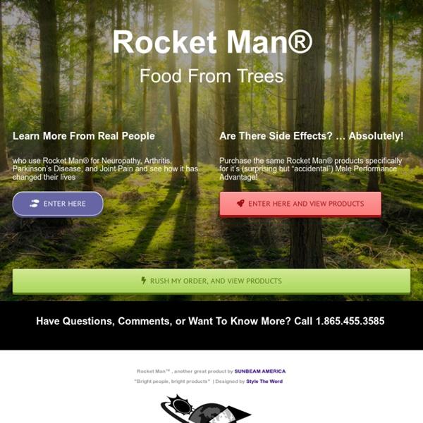 Rocket Man – Buy Rocket Man Today!