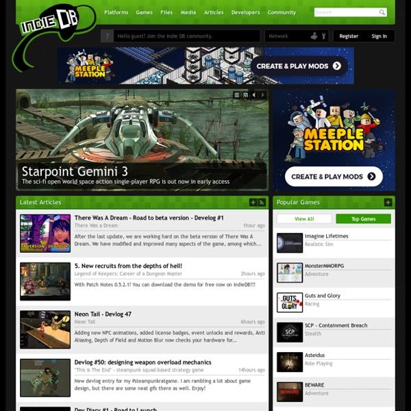 Rockin' Indie Games one pixel at a time - Indie DB