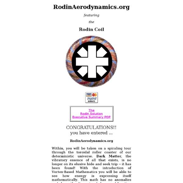 MARKO RODIN AERODYNAMICS PDF