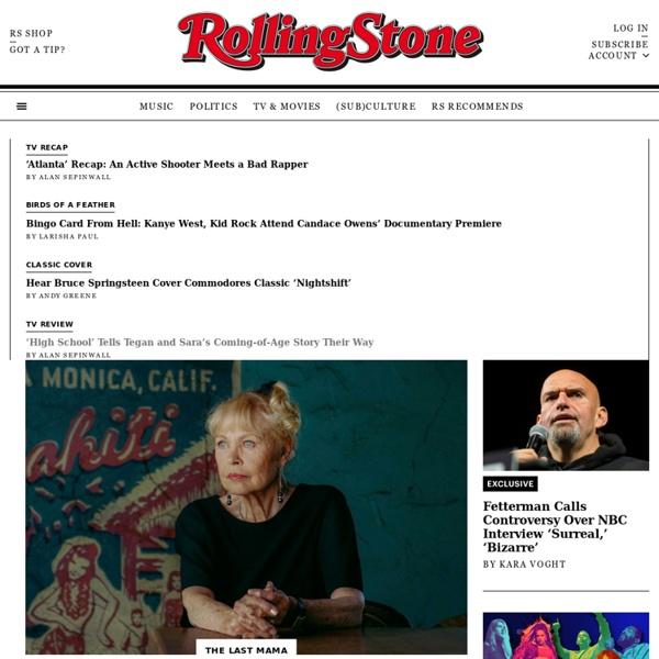 Rolling Stone: Music News, Reviews, Photos, Videos, Interviews,