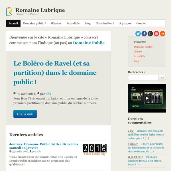 Romaine Lubrique - Domaine Public