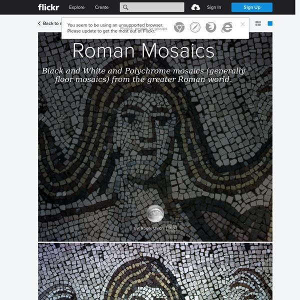 Roman Mosaics - an album on Flickr