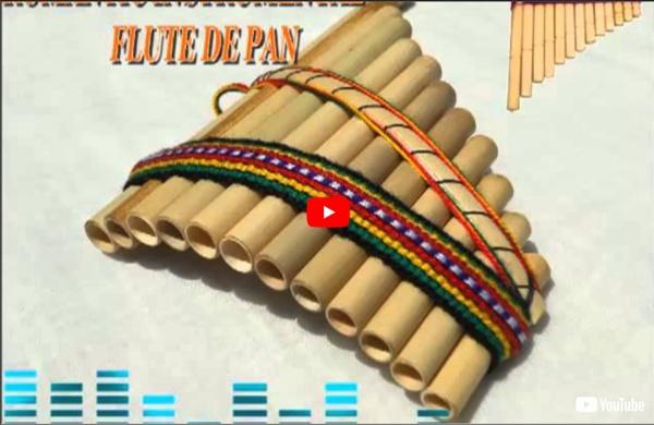 Musique relaxante : flûte de pan