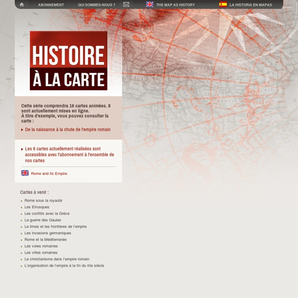 Rome et son empire - Histoire à la carte