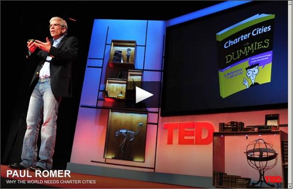 Paul Romer's radical idea: Charter cities