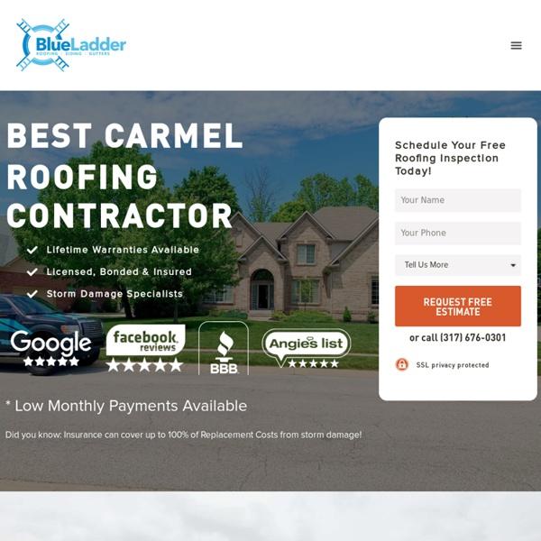 #1 Best Carmel Roofing Company - 5 Star Reviews - Lifetime Warranties