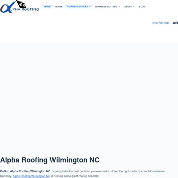Siding Wilmington NC