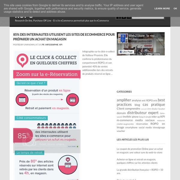 Research Online Purchase Offline, Nicolas Prigent