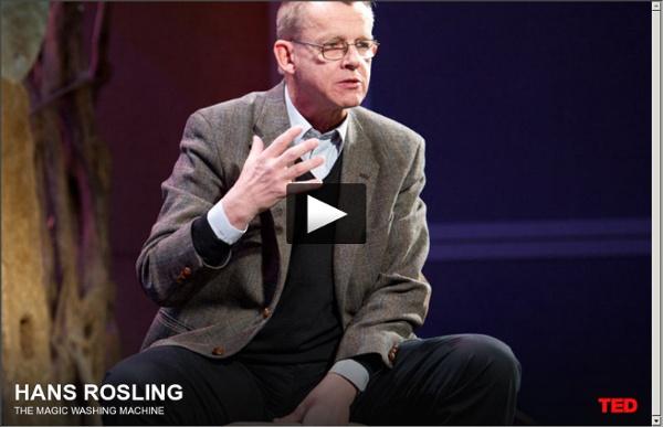Hans Rosling and the magic washing machine