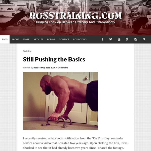 RossTraining.com Blog
