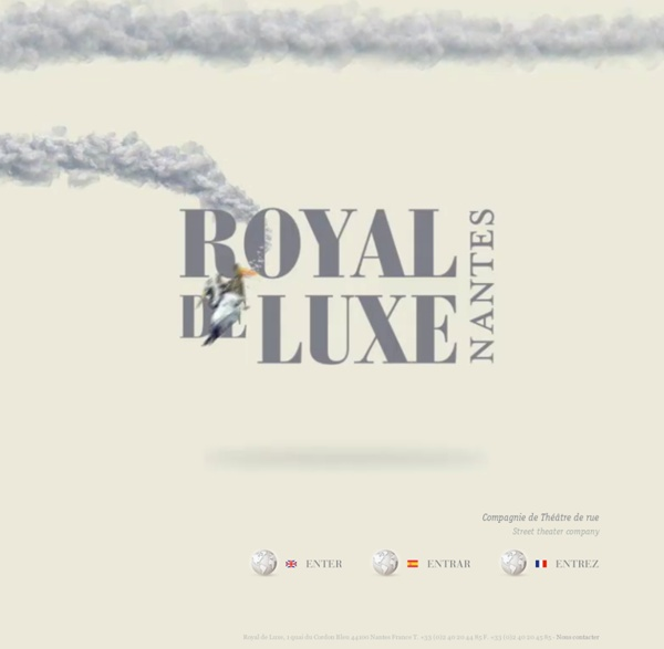 Royal de Luxe - Compagnie de théâtre de rue
