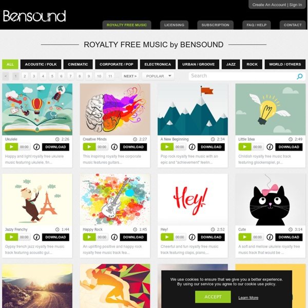Royalty Free Music by Bensound