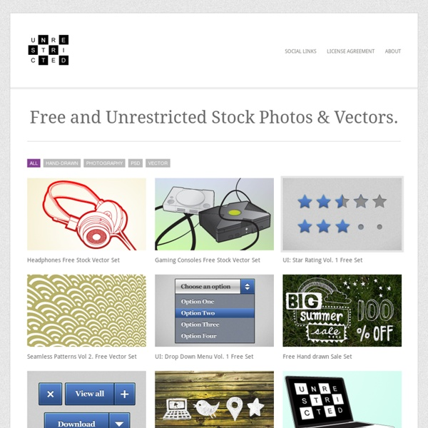 No Cost Royalty Free Stock Photography, Vectors and VIdeo