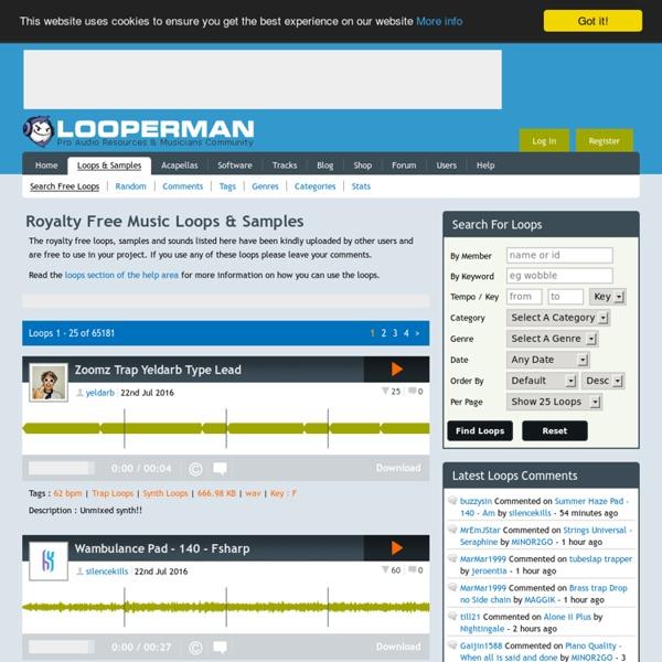 Royalty Free Loops Samples Sounds Wavs Beats Download