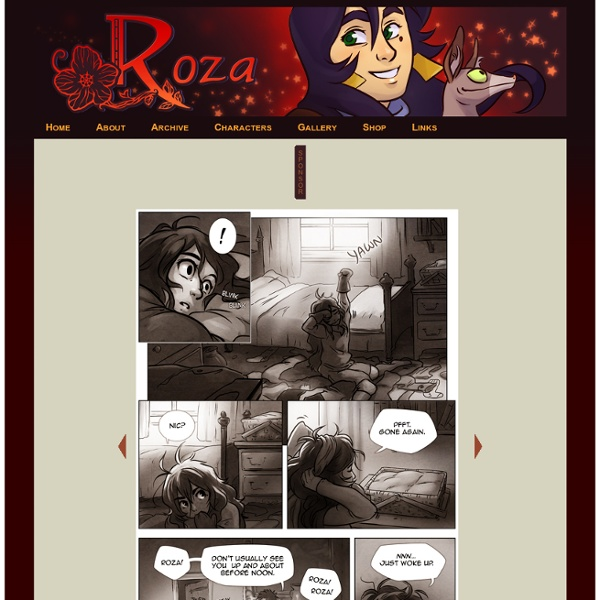 Roza : The cursed mage