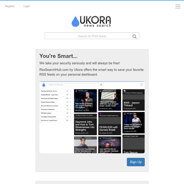 RSS Search Hub
