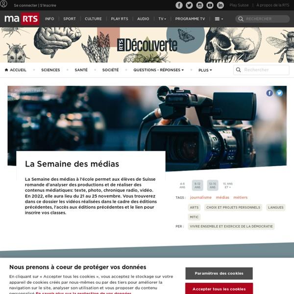 Journalisme : pastilles vidéos et ressources