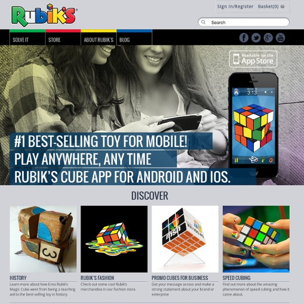 Rubik's Official Website