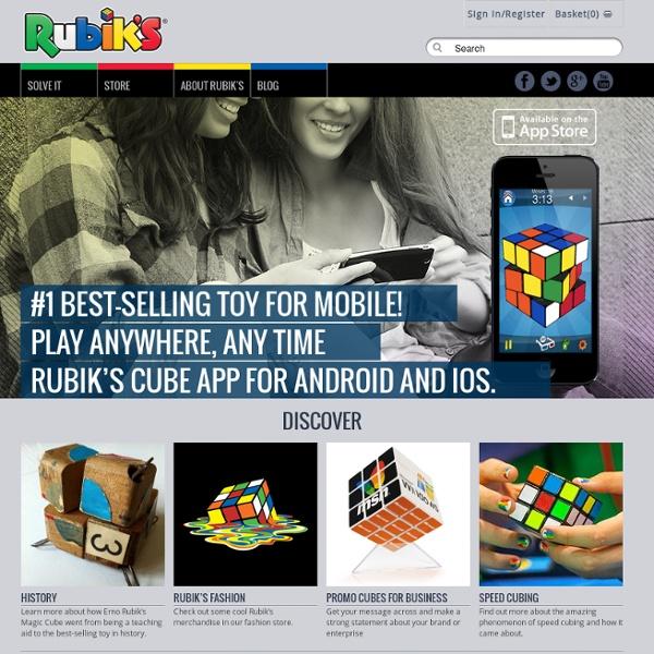 Rubik's Official Website