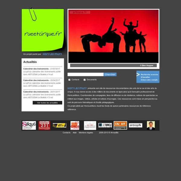 La médiathèque numérique des arts de la rue et des arts du cirque / public - Bienvenue sur DS