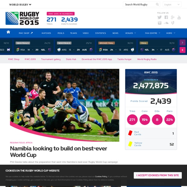 Official RWC 2015 Site - Homepage