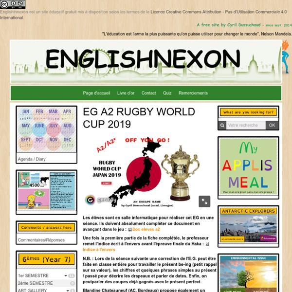 Un Escape game en anglais sur le thème du rugby