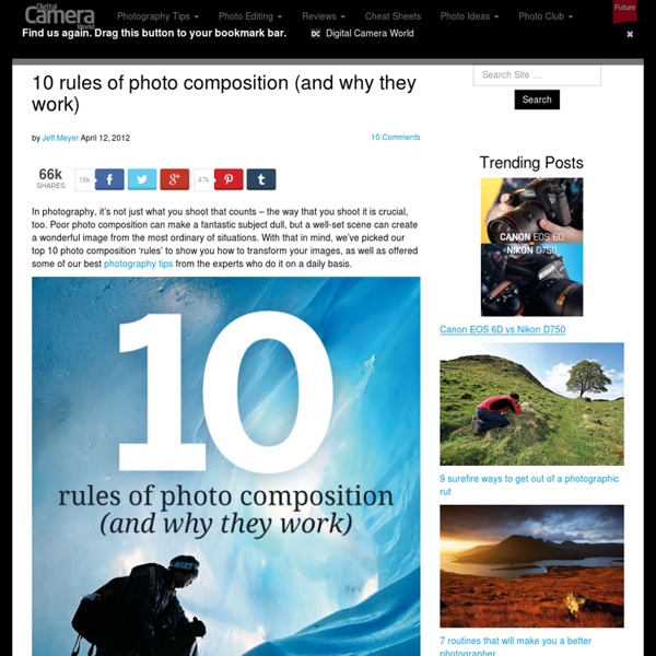 10 rules of photo composition (and why they work)