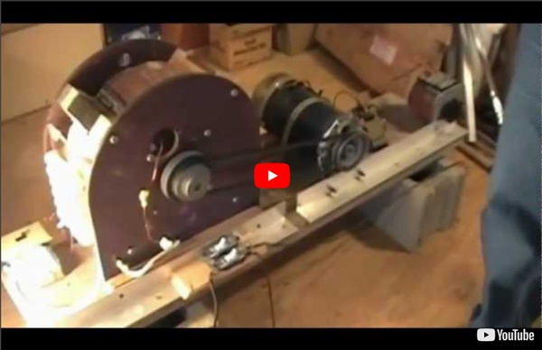 Self Running 40kW 40,000 Watt Fuelless Generator Full Video