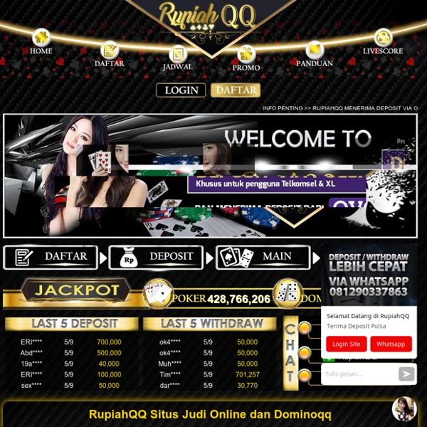 RupiahQQ - Situs Judi Online